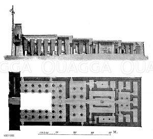 Amun-Tempel, Karnak, Ägypten