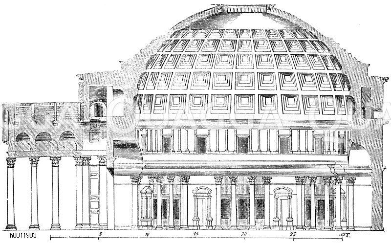 Pantheon (Rom, Italien, 27 v.Chr.)