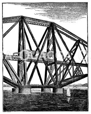 Firth of Forth, Eisenbahnbrücke (Schottland, 1883-1890)