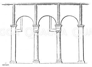Säulen, Pfeiler