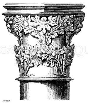 Säulen, Kapitelle, Stützen, Konsolen