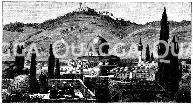 Felsendom (Jerusalem, Israel, 688-692)