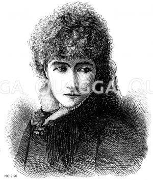 Sarah Bernhardt, 175. Geburtstag (25. September 1844)