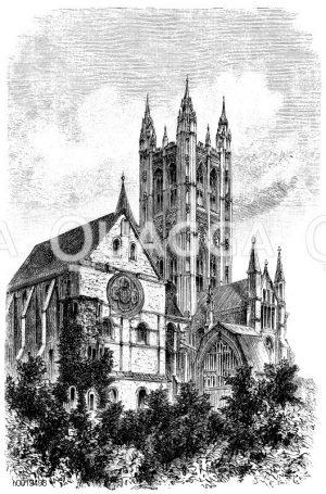 Canterbury, Kathedrale (England, um11.Jh.)