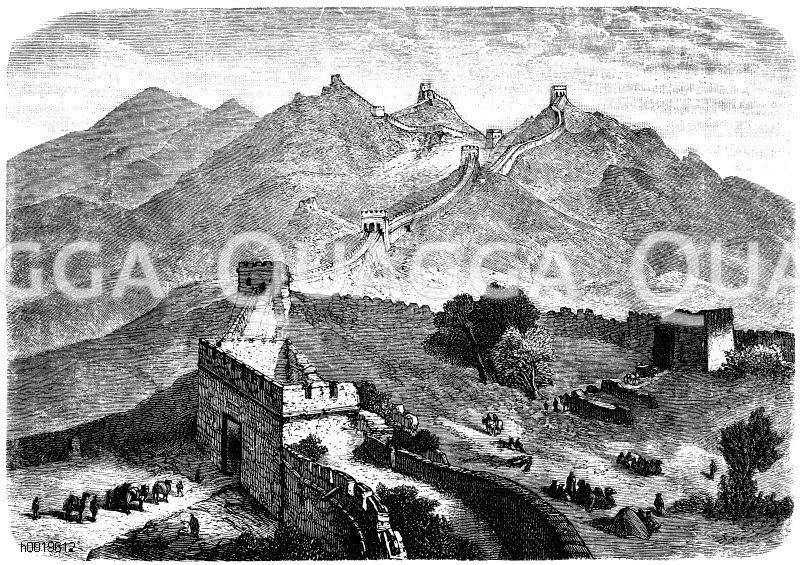Chinesische Mauer (221-210 v.Chr.)