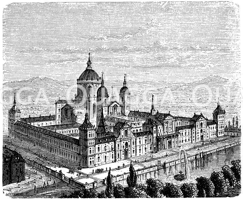 El Escorial (bei Madrid, Spanien, 1562-1586)