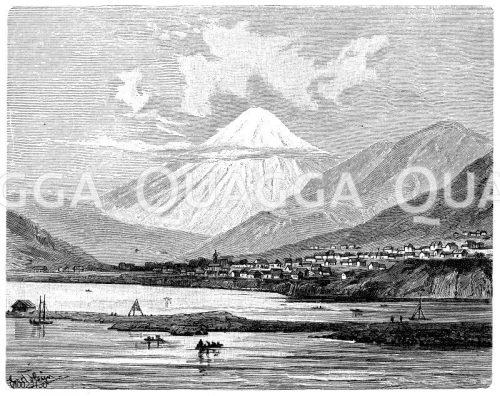 Gebirge, Berge, Vulkane