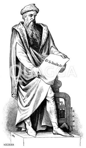 Johannes Gutenberg, 550. Todestag (3. Februar 1468)