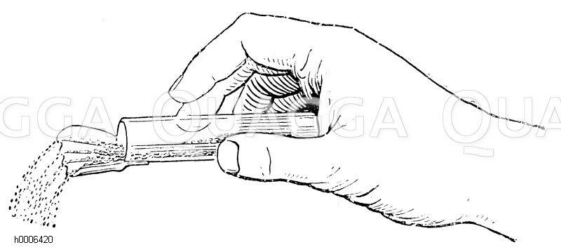 Samenstreuer Komet Zeichnung/Illustration