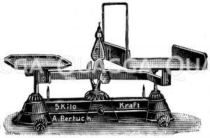 Brückenwaage Zeichnung/Illustration