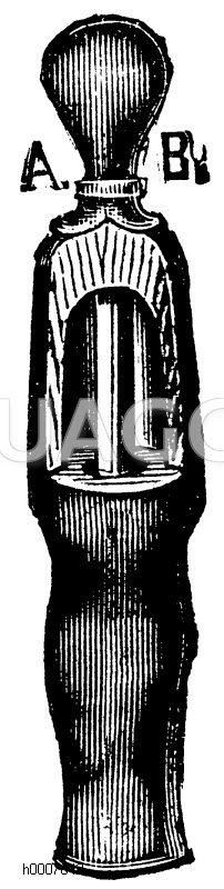 Korkmaschine Zeichnung/Illustration