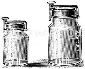 Einmachgläser mit Patentverschluss