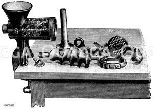 Fleischhackmaschine