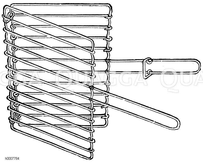 Beefsteakbrater Zeichnung/Illustration