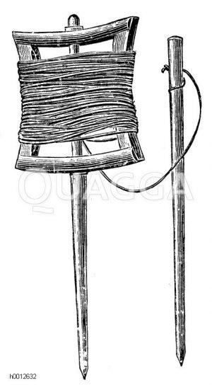 Gartenschnur Zeichnung/Illustration