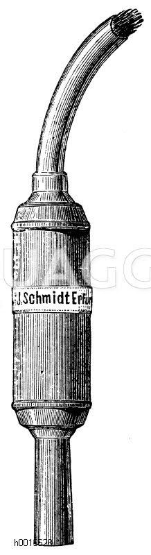 Raupenfackel Zeichnung/Illustration