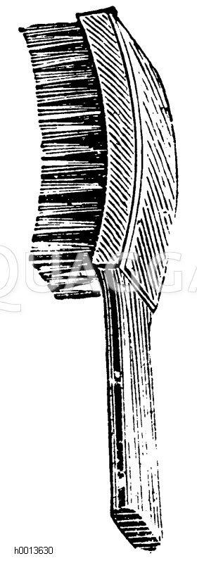 Stahldraht-Baumbürste Zeichnung/Illustration