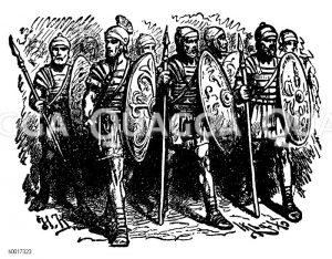Römische Legionäre Zeichnung/Illustration