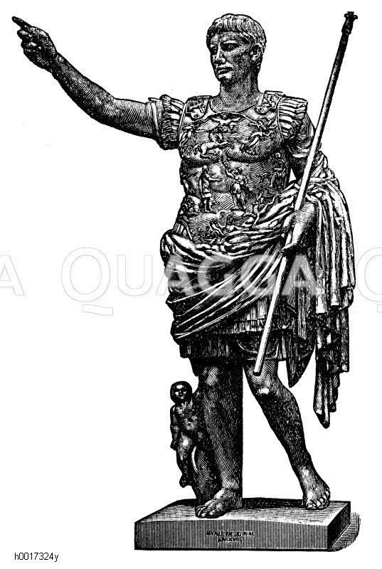 Augustus (geb.  23. September 63 v. Chr.