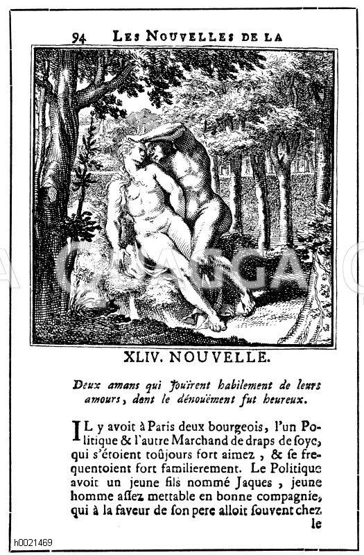 Illustrierte Ausgabe aus den Novelle der Königin von Navaraa