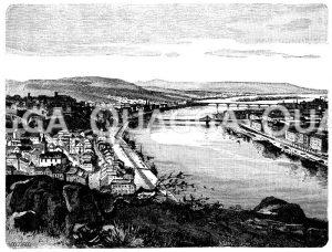 Budapest Zeichnung/Illustration