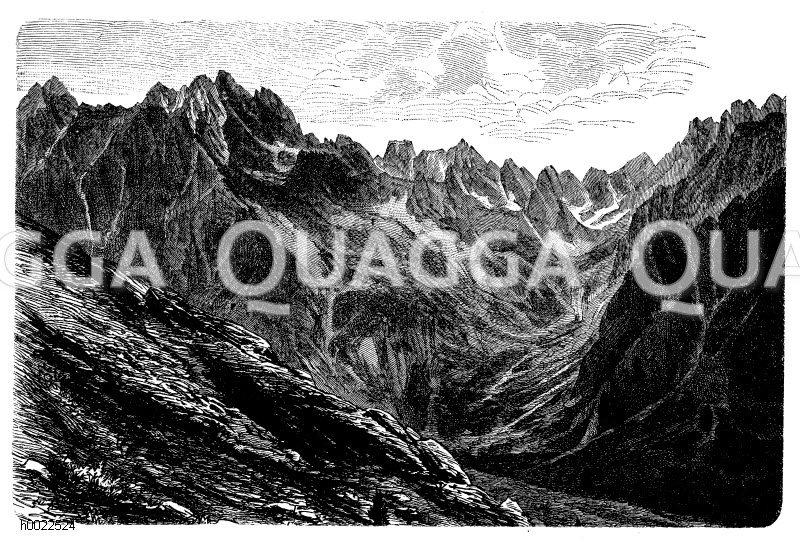 Tatraspitze Zeichnung/Illustration