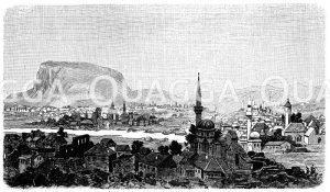 Mostar Zeichnung/Illustration