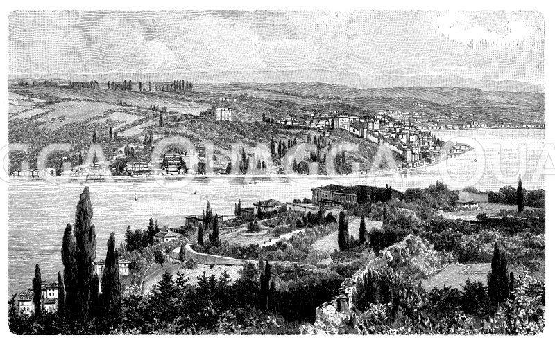 Bosporus bei Rumeli hissar