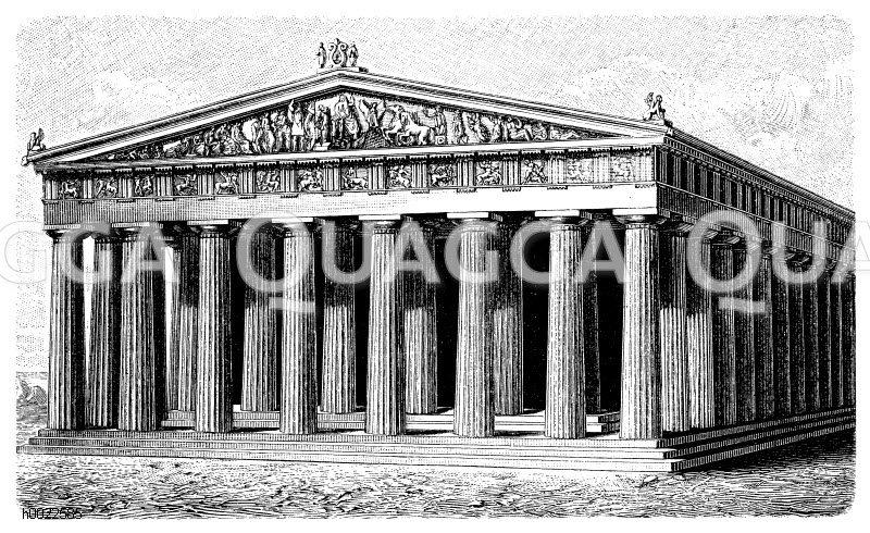 Parthenon zu Athen
