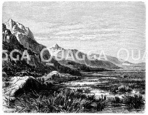 Engpass von Thermopylä Zeichnung/Illustration