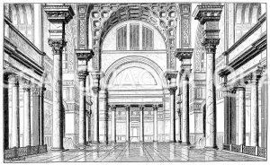 Saal aus den Thermen des Caracalla zu Rom