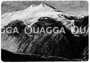 Elbrus im Kaukasus Zeichnung/Illustration