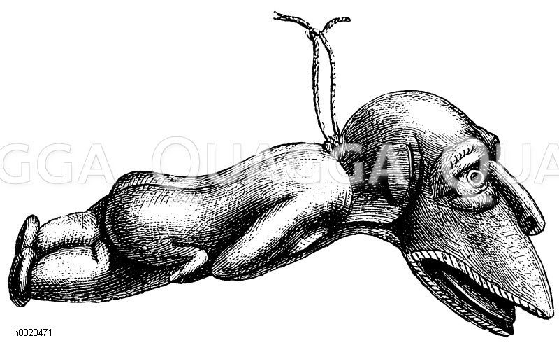 Fischidol Zeichnung/Illustration