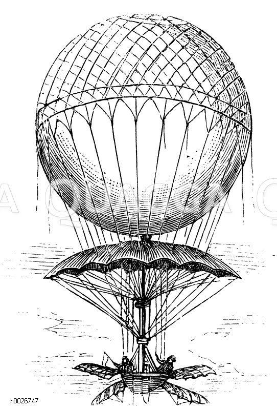 Heißluftballons, Zeppeline, Luftschiffe