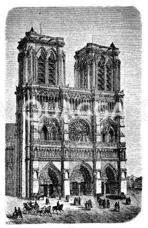 Notre-Dame (Paris, Frankreich, 1163-1330)
