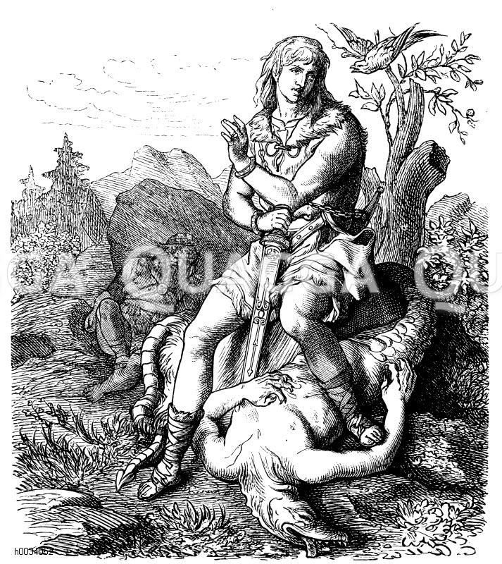 siegfried der drachentöter sage