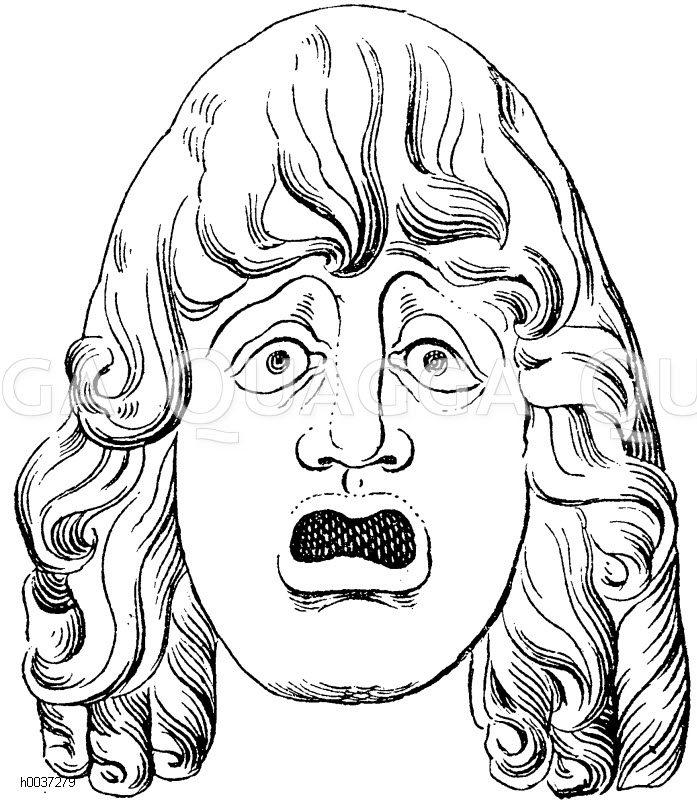 Masken, Fratzen