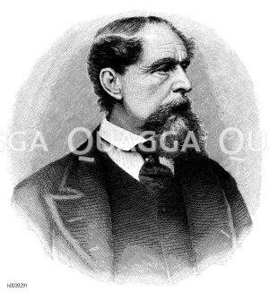 Charles Dickens, 150, Todestag (9. Juni 1870)