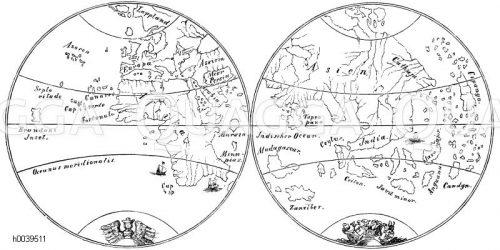 Landkarten, Pläne, Globen