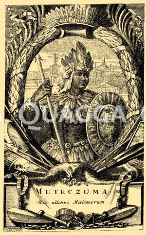 Moctezuma II., 500. Todestag (30. Juni 1520)