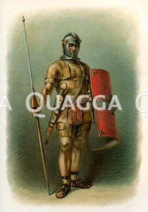 Römischer Legionssoldat Zeichnung/Illustration
