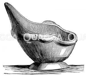 Sitzbadewanne Zeichnung/Illustration