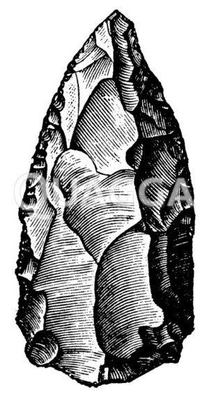 Faustkeil Zeichnung/Illustration
