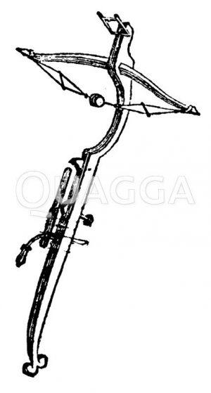 Armbrust Zeichnung/Illustration