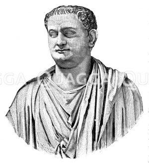 Titus. Marmorstatue im Vatikan Zeichnung/Illustration