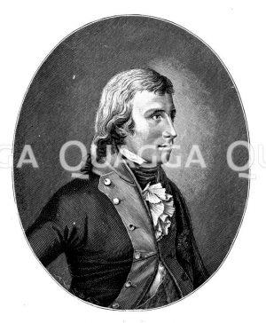 Friedrichs Wilhelm III. Nach einem Bild aus dem Jahr 1798 von Plötz und Hornemann