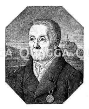 Joachim Nettelbeck. Nach der Natur auf Stein gezeichnet von L. Heine Zeichnung/Illustration