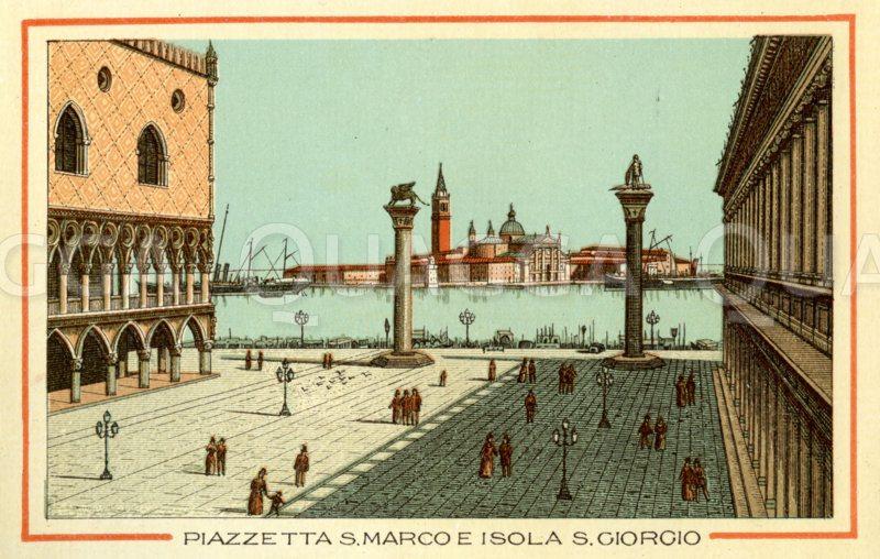 Venedig, Piazzetta S. Marco e isola S. Giorgo, Dogenpalast