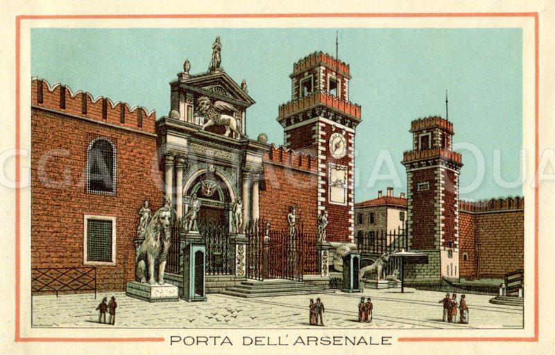 Venedig: Porte dell' Arsenale, Arsenal