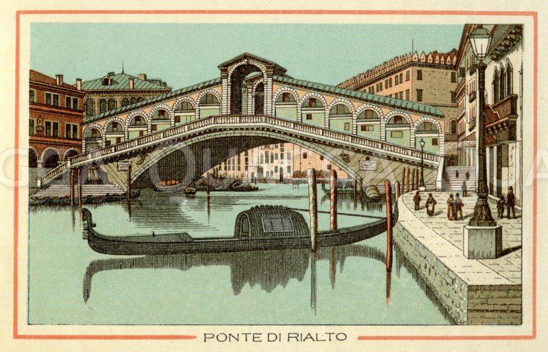 Venedig: Ponte di Rialto, Rialto-Brücke